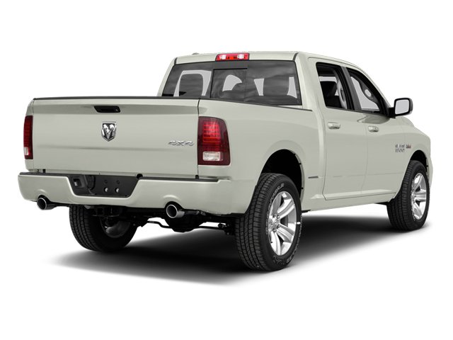Bright White 2013 Ram Truck 1500 Pictures 1500 Crew Cab SLT 4WD photos rear view
