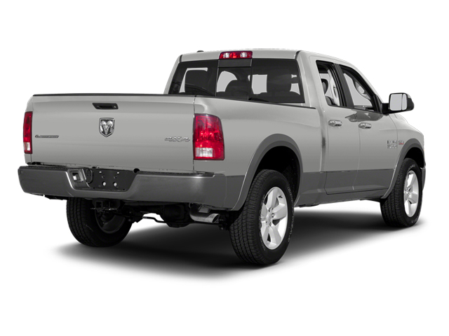 Bright Silver Metallic 2013 Ram Truck 1500 Pictures 1500 Quad Cab Outdoorsman 2WD photos rear view