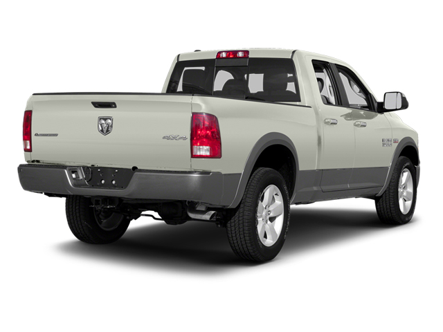 Bright White 2013 Ram Truck 1500 Pictures 1500 Quad Cab Outdoorsman 2WD photos rear view