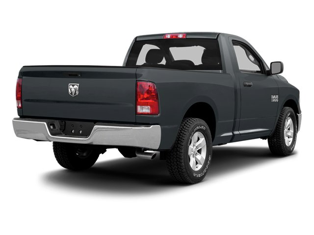 Maximum Steel Metallic 2013 Ram Truck 1500 Pictures 1500 Regular Cab HFE 2WD photos rear view
