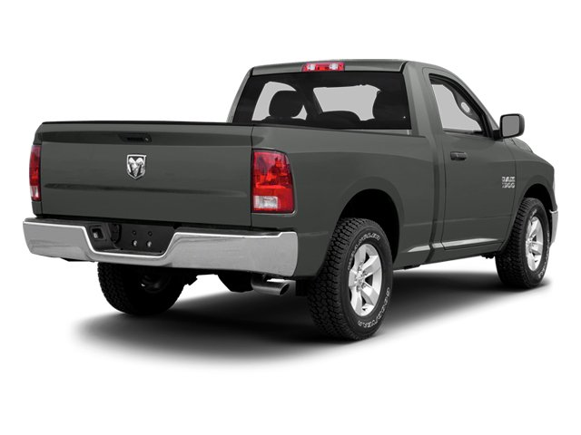 Mineral Gray Metallic 2013 Ram Truck 1500 Pictures 1500 Regular Cab SLT 4WD photos rear view