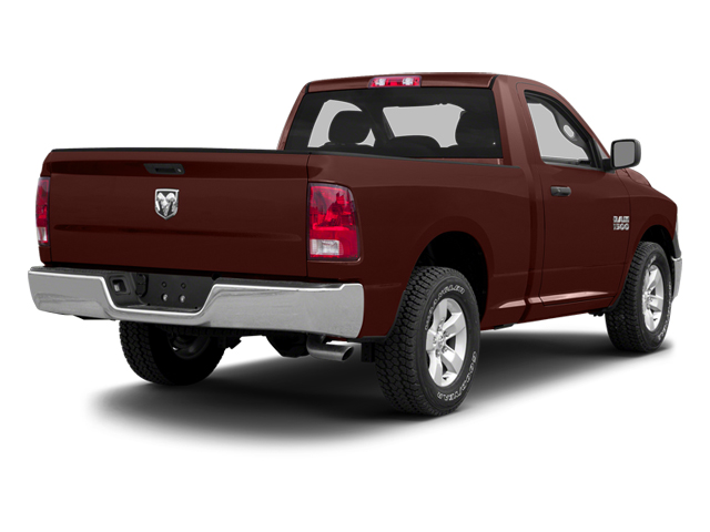 Western Brown 2013 Ram Truck 1500 Pictures 1500 Regular Cab SLT 4WD photos rear view