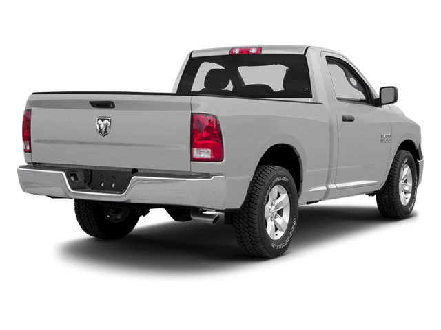 Bright Silver Metallic 2013 Ram Truck 1500 Pictures 1500 Regular Cab SLT 4WD photos rear view