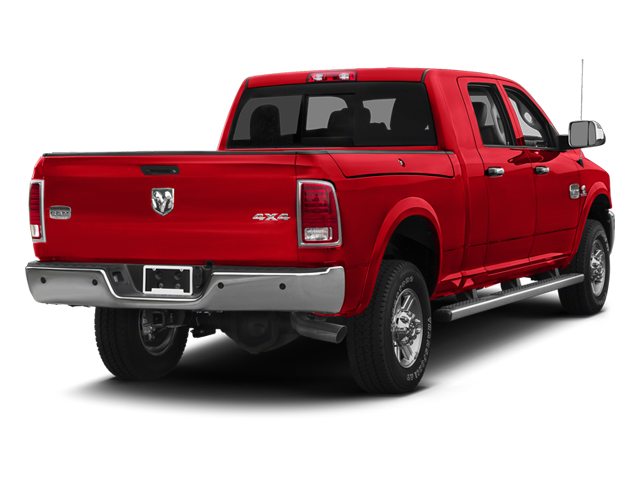 Bright Red 2013 Ram Truck 2500 Pictures 2500 Mega Cab SLT 2WD photos rear view