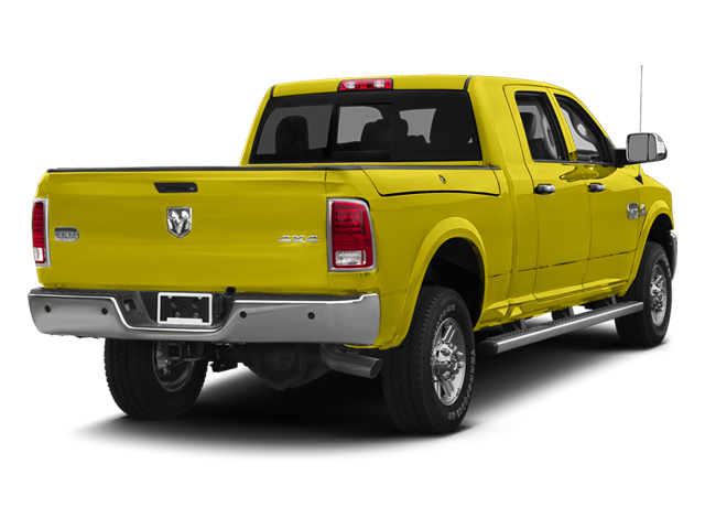 Yellow 2013 Ram Truck 2500 Pictures 2500 Mega Cab SLT 2WD photos rear view