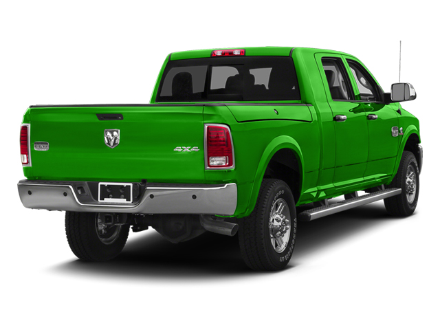 Bright Green 2013 Ram Truck 2500 Pictures 2500 Mega Cab SLT 2WD photos rear view