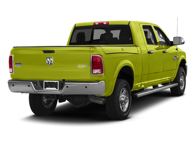 National Fire Safety Lime Yellow 2013 Ram Truck 2500 Pictures 2500 Mega Cab SLT 2WD photos rear view