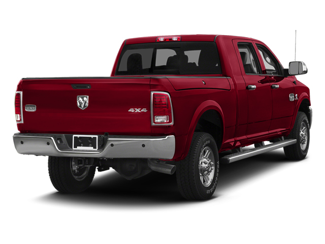 Deep Cherry Red Crystal Pearl 2013 Ram Truck 2500 Pictures 2500 Mega Cab Limited 4WD photos rear view