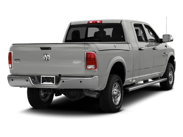 Bright Silver Metallic 2013 Ram Truck 2500 Pictures 2500 Mega Cab Limited 4WD photos rear view