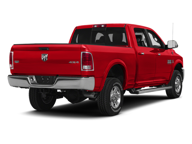 Bright Red 2013 Ram Truck 2500 Pictures 2500 Crew Cab SLT 4WD photos rear view