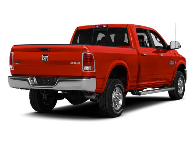 Bright Red 2013 Ram Truck 2500 Pictures 2500 Crew Cab Outdoorsman 4WD photos rear view