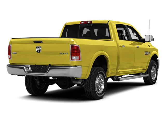Yellow 2013 Ram Truck 2500 Pictures 2500 Crew Cab SLT 4WD photos rear view