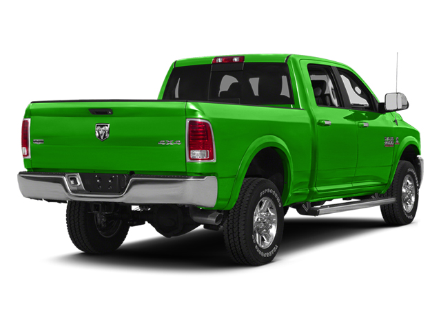 Bright Green 2013 Ram Truck 2500 Pictures 2500 Crew Cab SLT 4WD photos rear view
