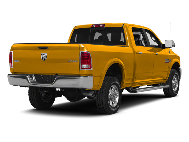 Case Construction Yellow 2013 Ram Truck 2500 Pictures 2500 Crew Cab Outdoorsman 4WD photos rear view
