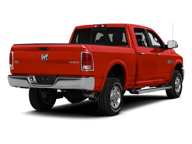Flame Red 2013 Ram Truck 2500 Pictures 2500 Crew Cab Longhorn 2WD photos rear view