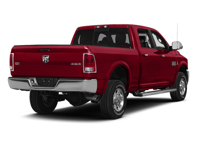 Deep Cherry Red Crystal Pearl 2013 Ram Truck 2500 Pictures 2500 Crew Cab SLT 4WD photos rear view