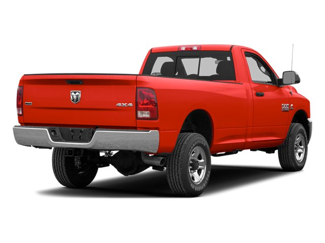 Bright Red 2013 Ram Truck 2500 Pictures 2500 Regular Cab SLT 4WD photos rear view