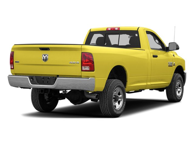 Yellow 2013 Ram Truck 2500 Pictures 2500 Regular Cab SLT 4WD photos rear view
