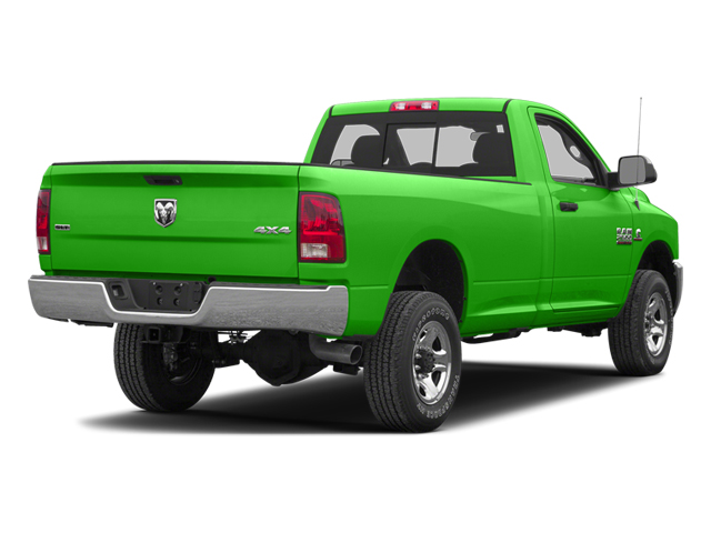 Bright Green 2013 Ram Truck 2500 Pictures 2500 Regular Cab SLT 4WD photos rear view