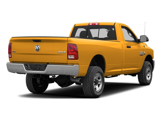 Case Construction Yellow 2013 Ram Truck 2500 Pictures 2500 Regular Cab SLT 4WD photos rear view