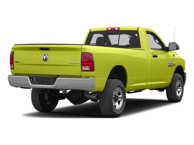National Fire Safety Lime Yellow 2013 Ram Truck 2500 Pictures 2500 Regular Cab SLT 4WD photos rear view