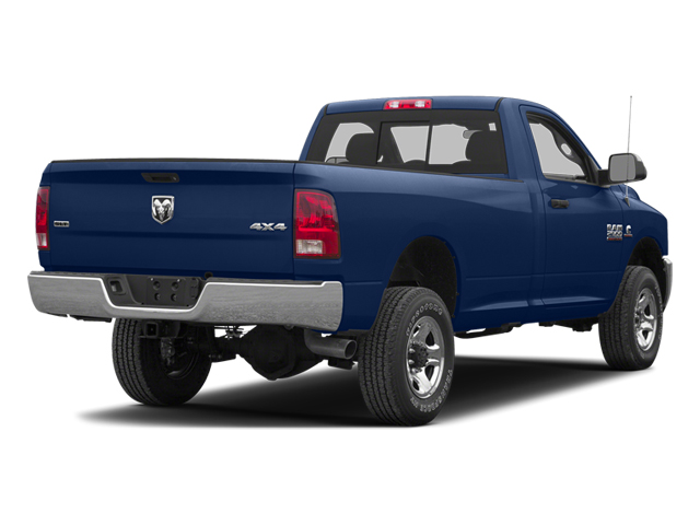 True Blue Pearl 2013 Ram Truck 2500 Pictures 2500 Regular Cab SLT 4WD photos rear view