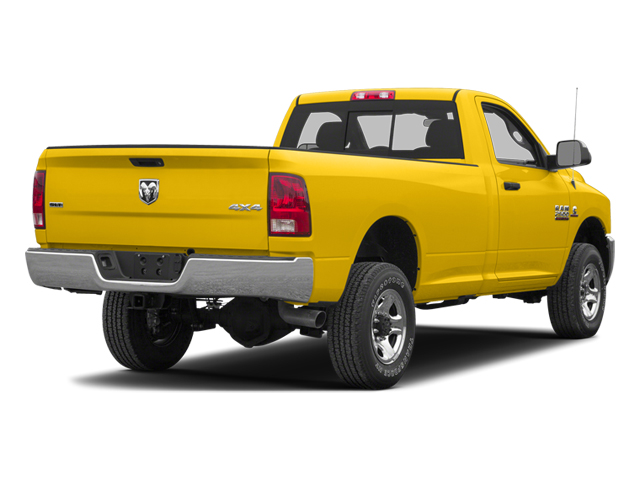 School Bus Yellow 2013 Ram Truck 2500 Pictures 2500 Regular Cab SLT 4WD photos rear view