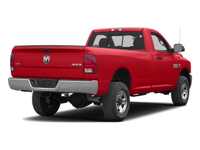 Flame Red 2013 Ram Truck 2500 Pictures 2500 Regular Cab SLT 4WD photos rear view