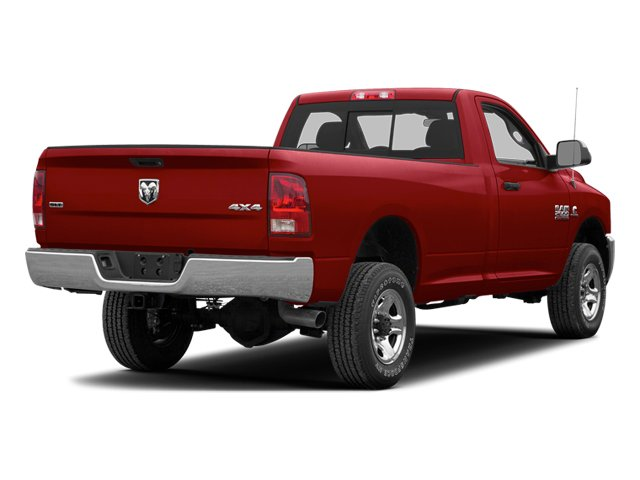 Deep Cherry Red Crystal Pearl 2013 Ram Truck 3500 Pictures 3500 Regular Cab SLT 2WD photos rear view