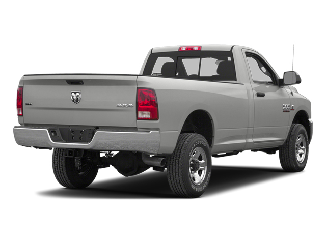 Bright Silver Metallic 2013 Ram Truck 3500 Pictures 3500 Regular Cab SLT 2WD photos rear view