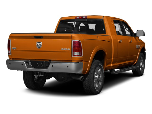 Omaha Orange 2013 Ram Truck 3500 Pictures 3500 Mega Cab SLT 4WD photos rear view