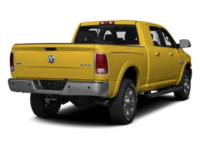 Yellow 2013 Ram Truck 3500 Pictures 3500 Mega Cab SLT 4WD photos rear view
