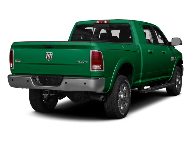 Bright Green 2013 Ram Truck 3500 Pictures 3500 Mega Cab SLT 4WD photos rear view