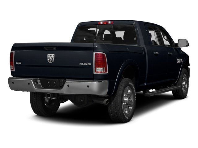 Midnight Blue Pearl 2013 Ram Truck 3500 Pictures 3500 Mega Cab SLT 4WD photos rear view