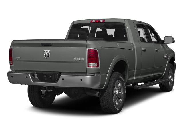 Mineral Gray Metallic 2013 Ram Truck 3500 Pictures 3500 Mega Cab SLT 4WD photos rear view