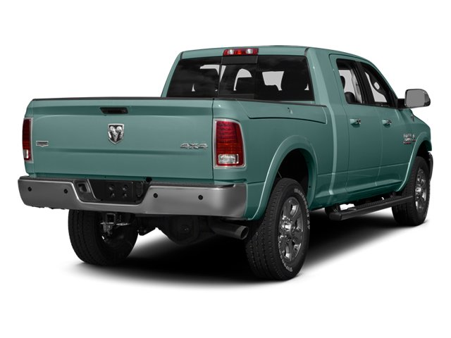 Light Green 2013 Ram Truck 3500 Pictures 3500 Mega Cab SLT 4WD photos rear view