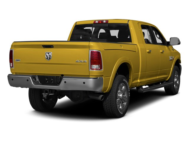 Detonator Yellow 2013 Ram Truck 3500 Pictures 3500 Mega Cab SLT 4WD photos rear view
