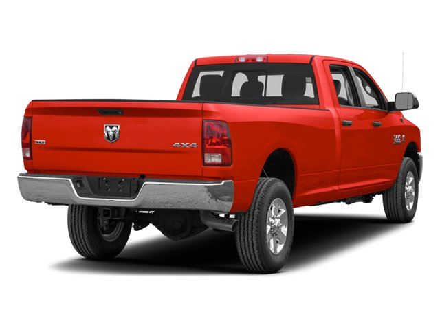 Bright Red 2013 Ram Truck 3500 Pictures 3500 Crew Cab Tradesman 2WD photos rear view