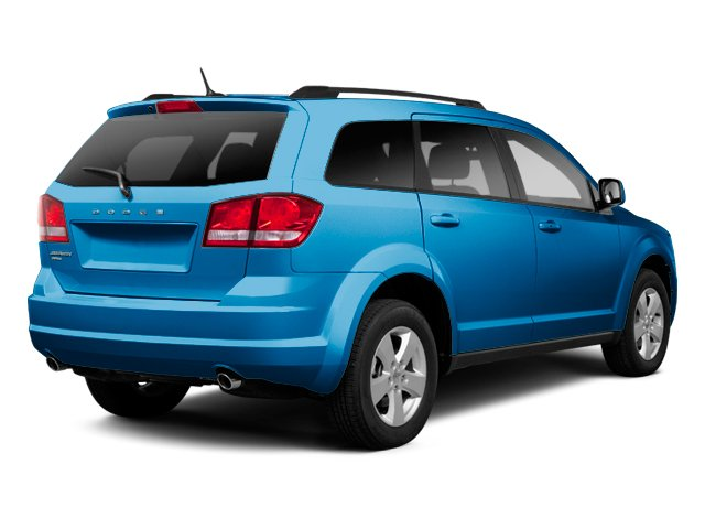 Fathom Blue Pearl 2013 Dodge Journey Pictures Journey Utility 4D Crew AWD photos rear view
