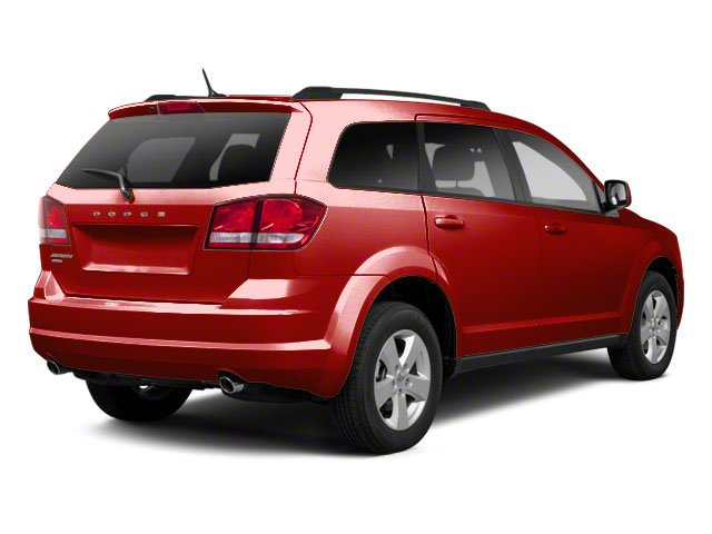 Bright Red 2013 Dodge Journey Pictures Journey Utility 4D Crew AWD photos rear view