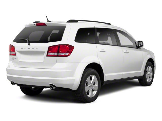 White 2013 Dodge Journey Pictures Journey Utility 4D Crew AWD photos rear view