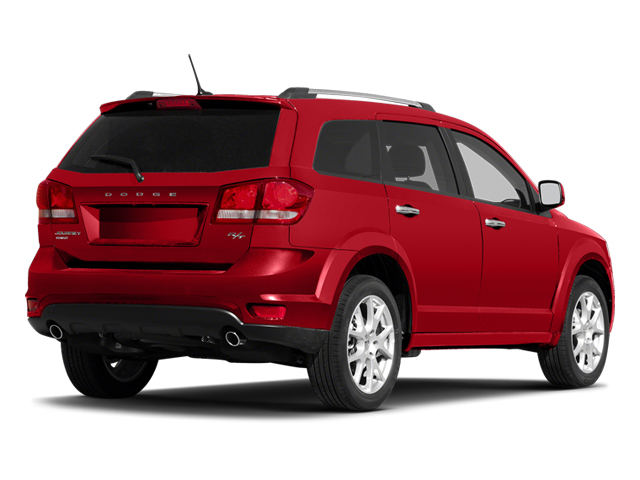 Bright Red 2013 Dodge Journey Pictures Journey Utility 4D R/T 2WD photos rear view