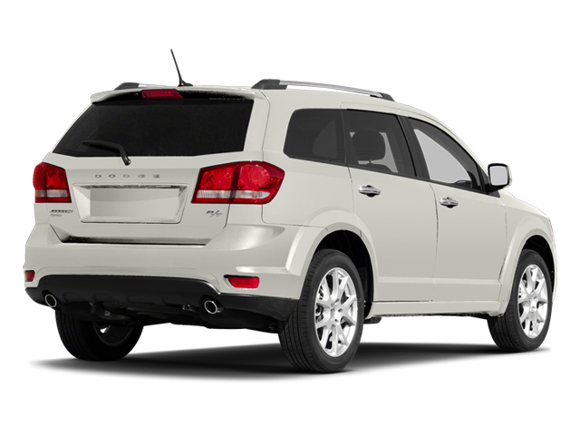 White 2013 Dodge Journey Pictures Journey Utility 4D R/T 2WD photos rear view