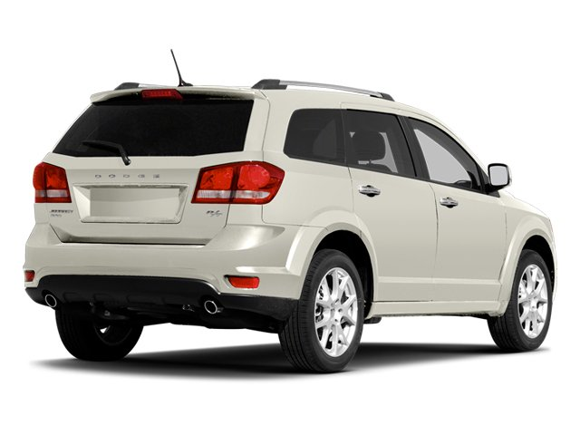 Pearl White Tri-coat 2013 Dodge Journey Pictures Journey Utility 4D R/T 2WD photos rear view