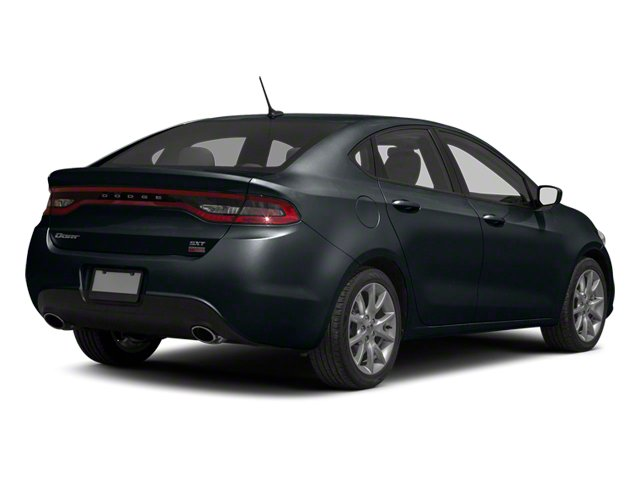 Maximum Steel Metallic 2013 Dodge Dart Pictures Dart Sedan 4D GT I4 photos rear view