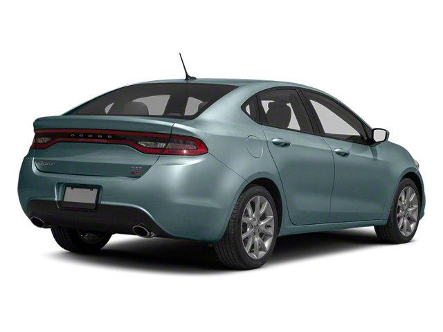 Winter Chill Pearl 2013 Dodge Dart Pictures Dart Sedan 4D GT I4 photos rear view