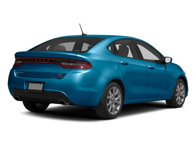 Laguna Blue 2013 Dodge Dart Pictures Dart Sedan 4D GT I4 photos rear view