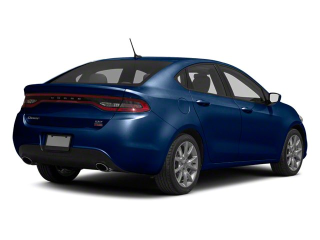 True Blue Pearl 2013 Dodge Dart Pictures Dart Sedan 4D GT I4 photos rear view