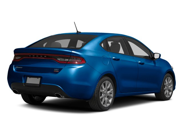 Blue Streak Pearl 2013 Dodge Dart Pictures Dart Sedan 4D Aero I4 Turbo photos rear view