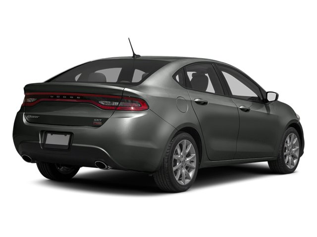 Tungsten Metallic 2013 Dodge Dart Pictures Dart Sedan 4D GT I4 photos rear view